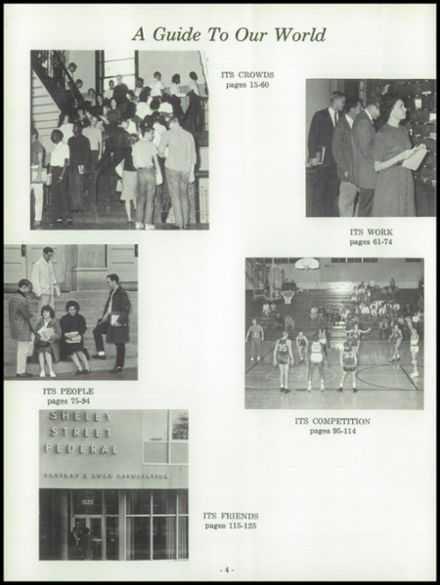 1963 Harry Wood High School Yearbook Page 8