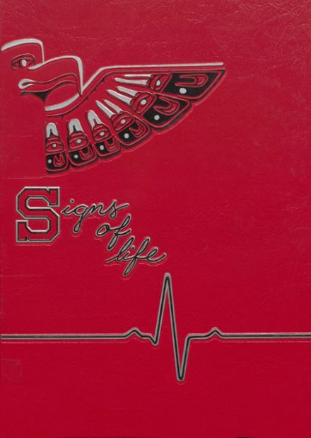 1987 Sammamish High School Yearbook Cover