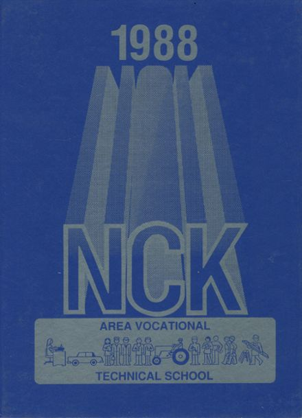 1988 North Central Kansas Vocational Technical School Yearbook Cover