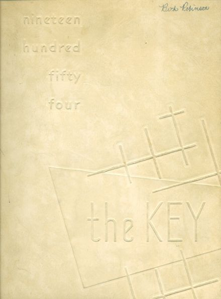 1954 Evanston Township High School Yearbook Cover