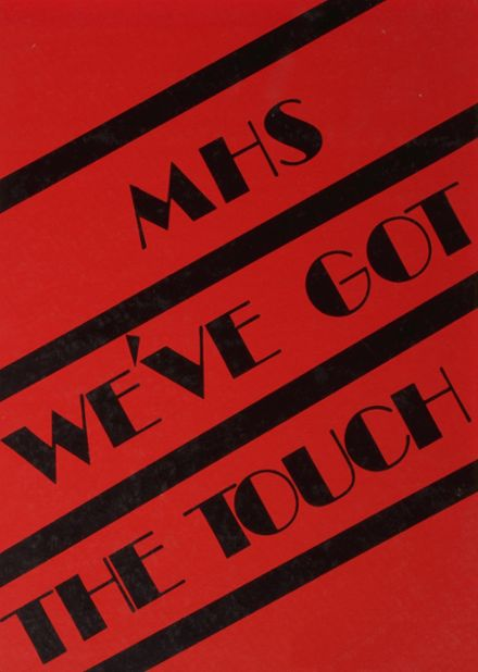 1984 McCamey High School Yearbook Page 1