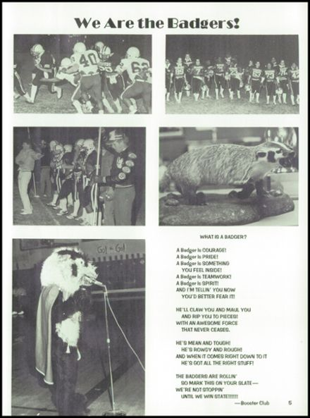 1984 McCamey High School Yearbook Page 9