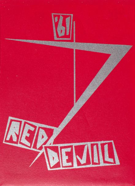 1961 Lowell High School Yearbook Cover