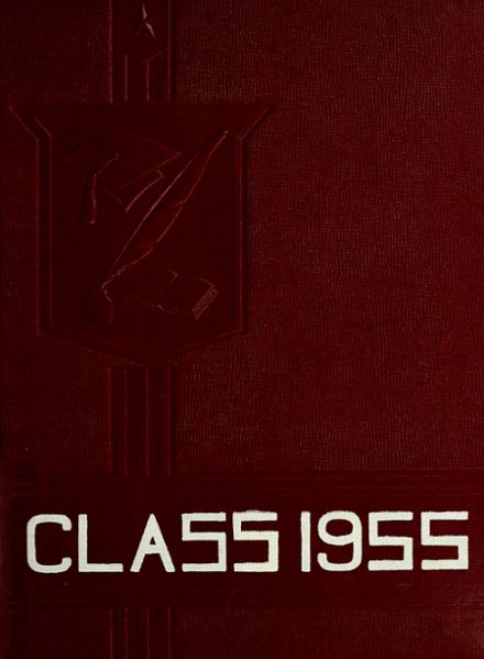 1955 Saratoga High School Yearbook Cover