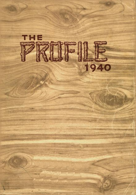 1940 Little Falls High School Yearbook Cover
