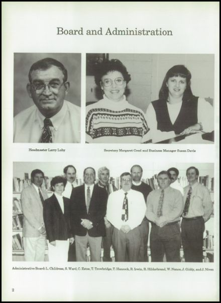 1998 Tri-County Academy Yearbook Page 6