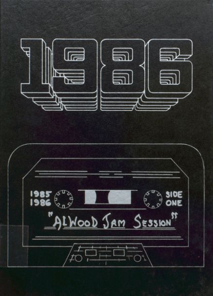 1986 Alwood High School Yearbook Cover