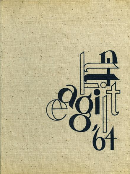 1964 Highland Park High School Yearbook Cover