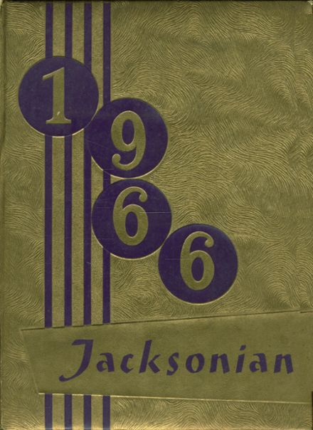 1966 Jackson High School Yearbook Cover