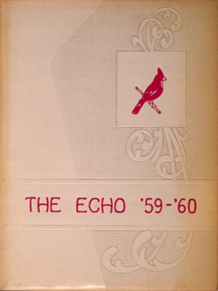 1960 Woodlawn High School Yearbook Cover