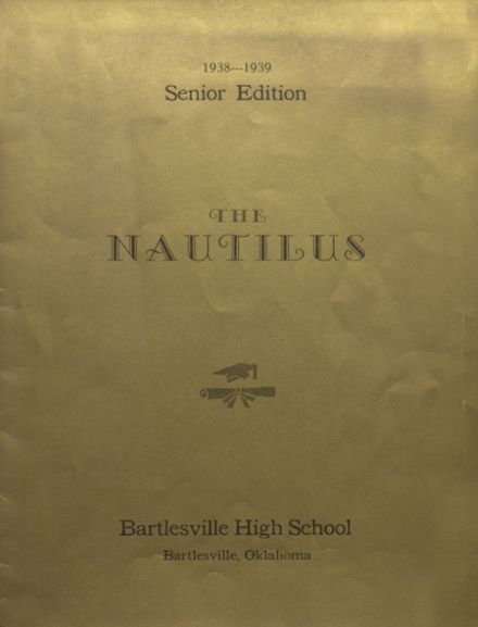 1939 College High School Yearbook Cover