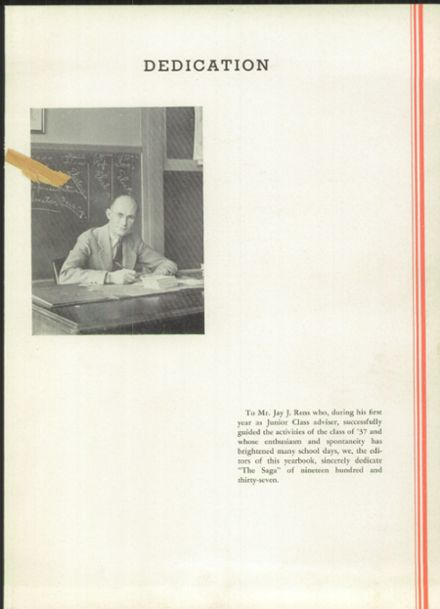 1937 Creston High School Yearbook Page 7