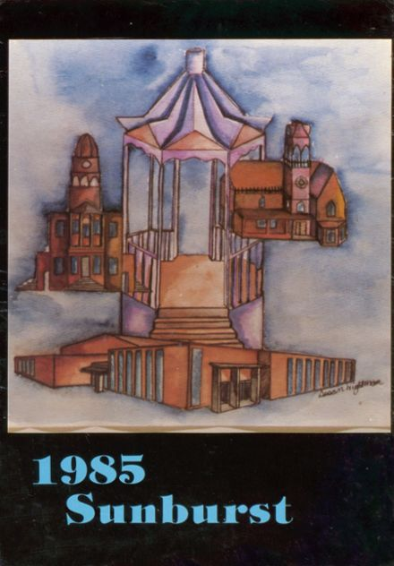 1985 Washington High School Yearbook Cover