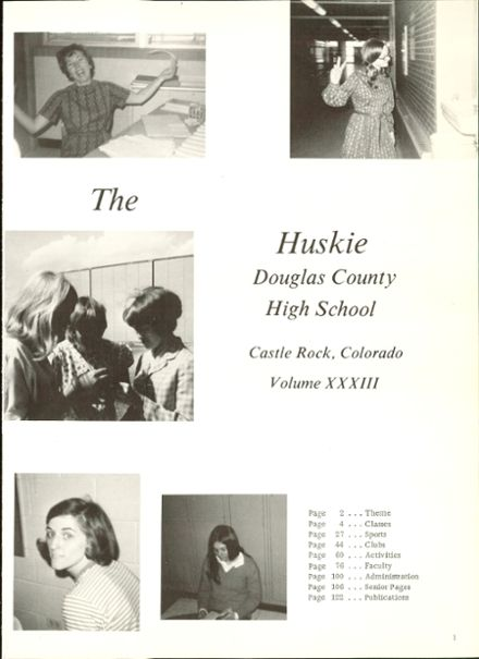 1971 Douglas County High School Yearbook Page 5