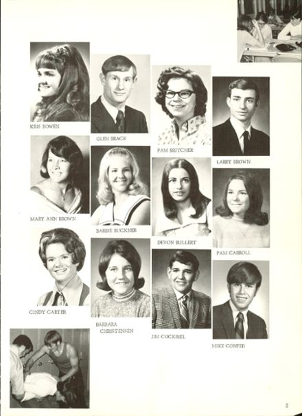 1971 Douglas County High School Yearbook Page 9