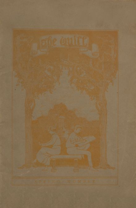 1920 East High School Yearbook Cover
