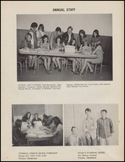 1971 Cameron High School Yearbook Page 6