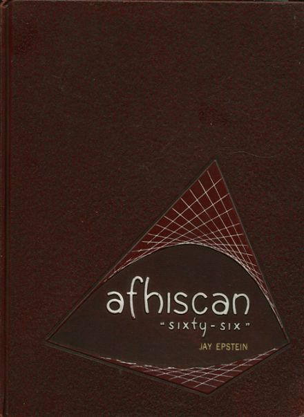1966 Affton High School Yearbook Cover