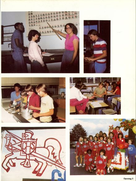 1983 Churchill Area High School Yearbook Page 7