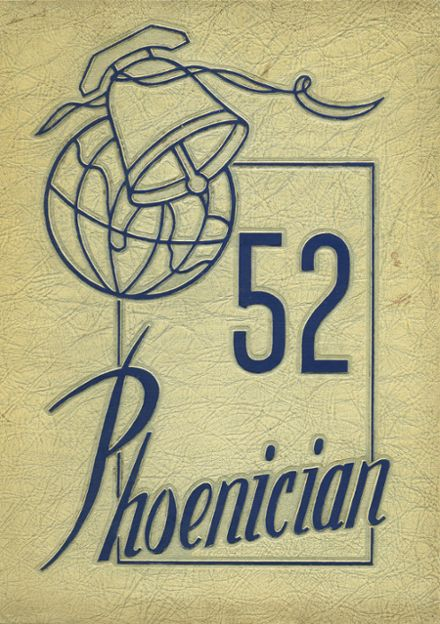 1952 Phoenix Union High School Yearbook Cover