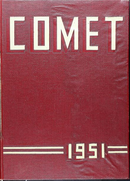 1951 Stephen F. Austin High School Yearbook Cover