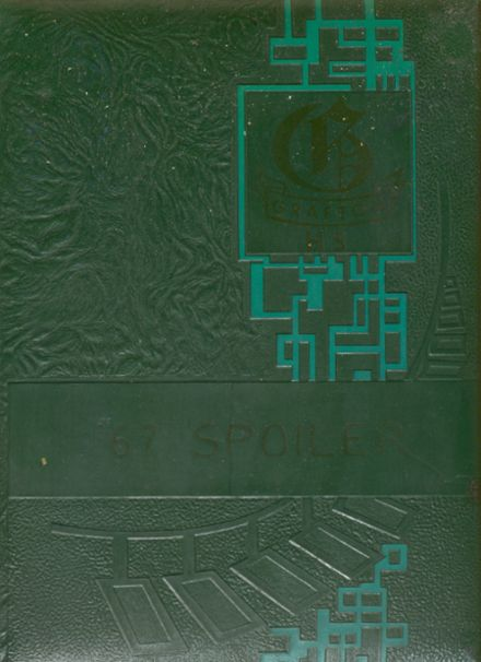 1967 Grafton High School Yearbook Cover
