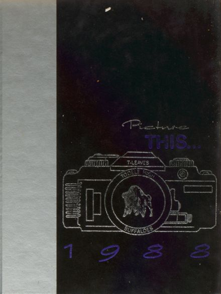 1988 Tooele High School Yearbook Cover