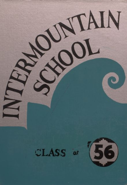 1956 Intermountain Indian High School Yearbook Cover