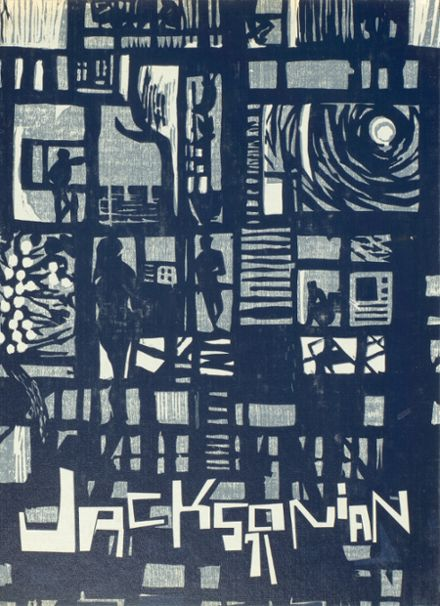 1971 Jackson High School Yearbook Cover