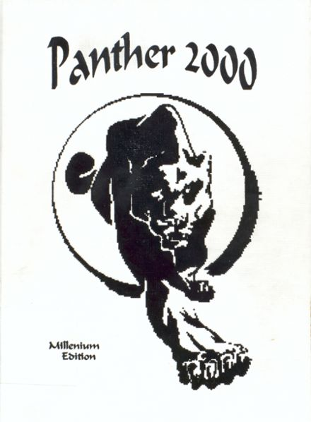 2000 Jal High School Yearbook Cover