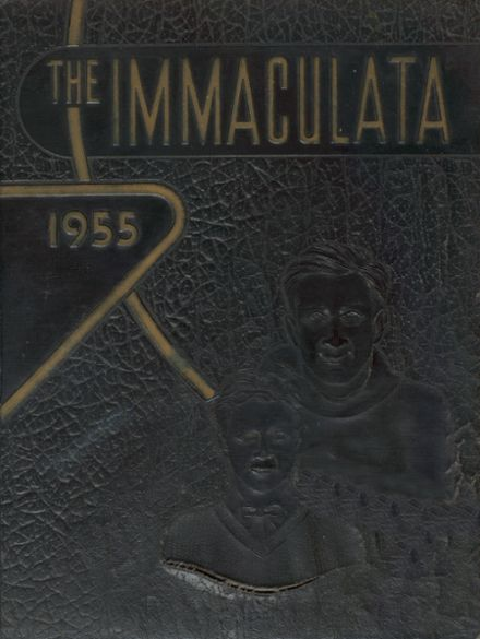 1955 Trenton Catholic Boys' High School Yearbook Cover