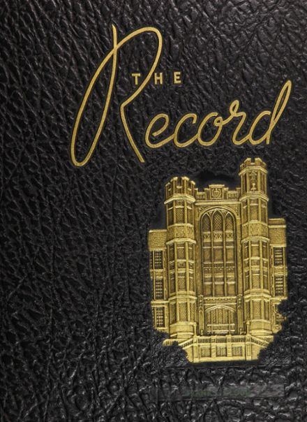 1945 Frankford High School Yearbook Cover