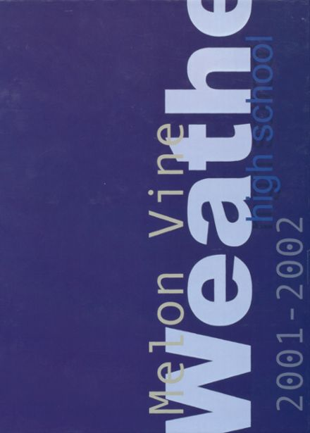 2002 Weatherford High School Yearbook Cover