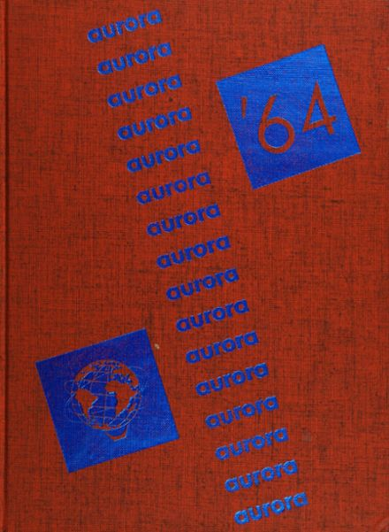 1964 Thomas Jefferson High School Yearbook Cover