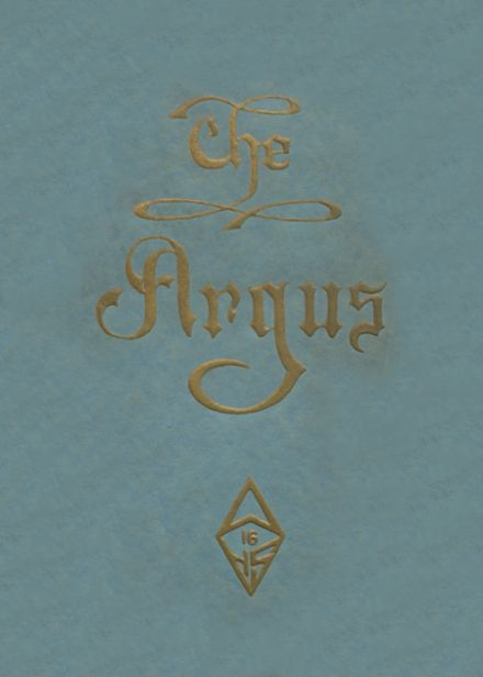 1916 Ottumwa High School Yearbook Cover