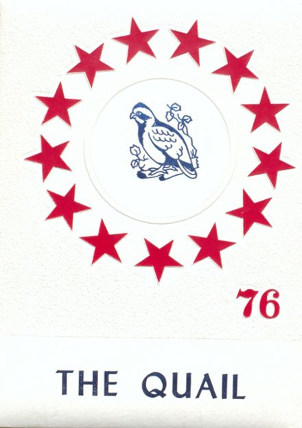 1976 Quail High School Yearbook Cover