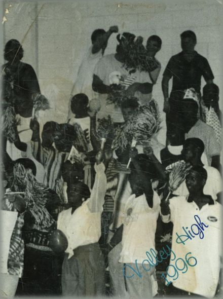 1996 Valley High School Yearbook Cover