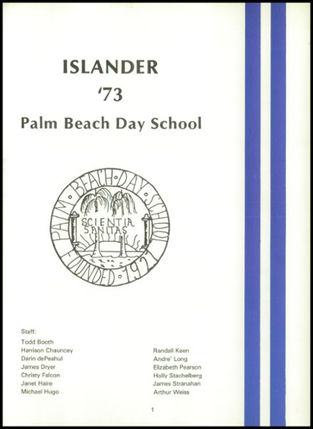 1973 Palm Beach Day School Yearbook Page 5