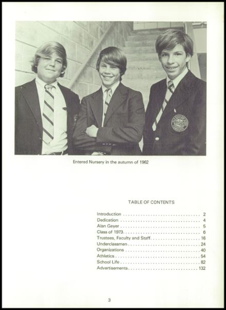 1973 Palm Beach Day School Yearbook Page 7