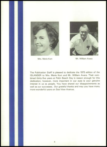 1973 Palm Beach Day School Yearbook Page 8