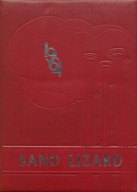 1964 Dardanelle High School Yearbook Cover