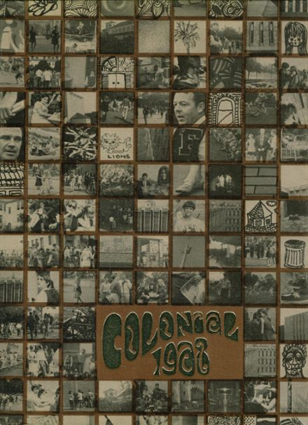1968 Fairfax High School Yearbook Cover