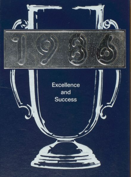 1986 Frederick Douglass High School 450 Yearbook Cover