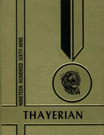 1969 Thayer High School Yearbook Cover