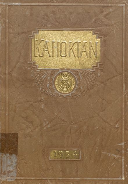 1934 Collinsville High School Yearbook Cover