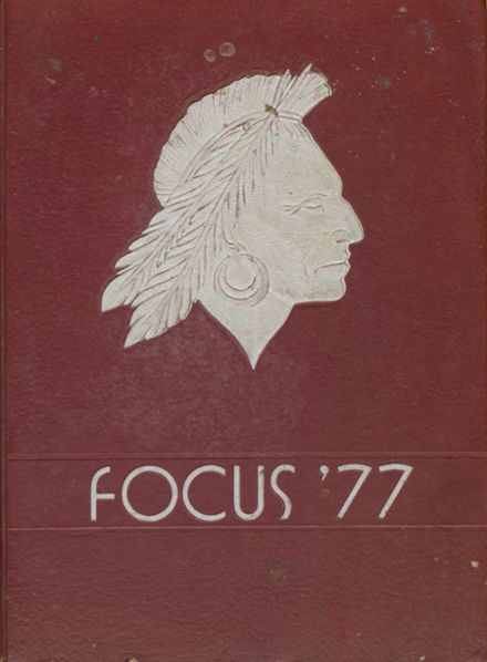 1977 South High School Yearbook Cover