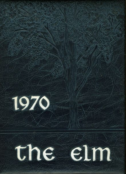 1970 Wethersfield High School Yearbook Cover