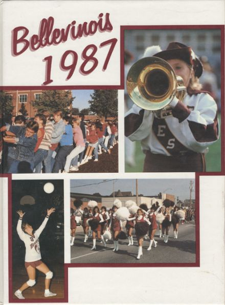 1987 Belleville Township West High School Yearbook Cover