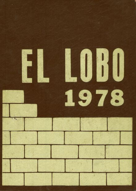 1978 Levelland High School Yearbook Cover