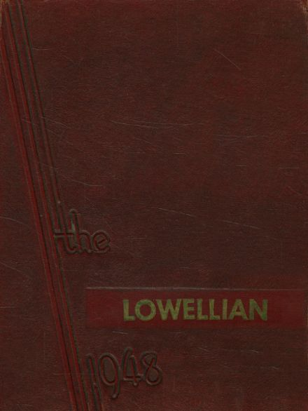 1948 Lowell High School Yearbook Cover